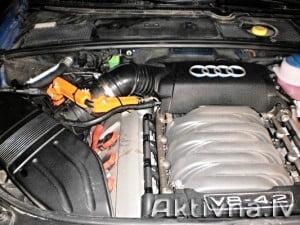 Samazinam degvielas patēriņš audi v8