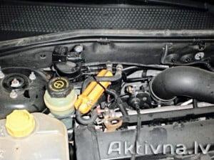 Samazinam degvielas patēriņš ford focus 1,6