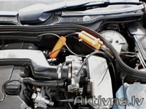 Samazinam degvielas patēriņš mercedes c180