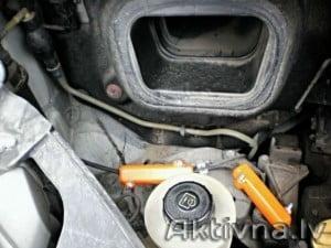 Samazinam degvielas patēriņš renault trafic