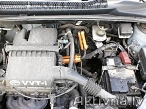 Samazinam degvielas patēriņš toyota corolla 1,6