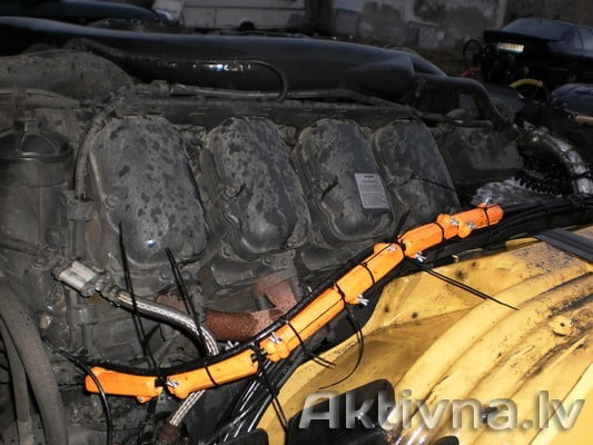 SAAB SCANIA. Samazinam degvielas patēriņš Saab Scania
