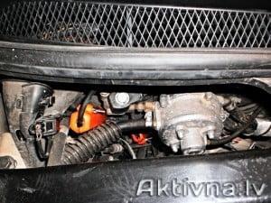 Samazinam degvielas patēriņš volvo v70 gāze