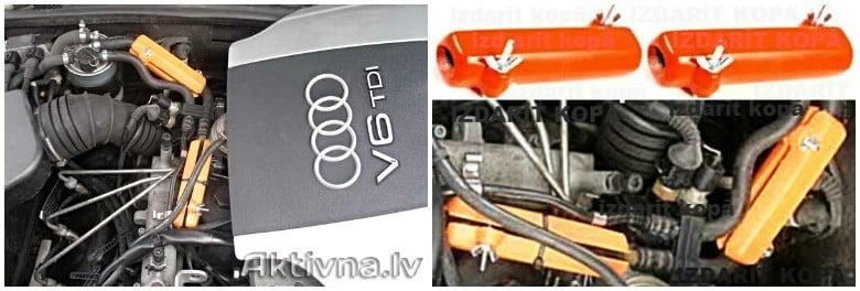 AUDI. Samazinam degvielas patēriņš Audi