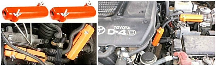 TOYOTA. Снижается расход топлива Тойота